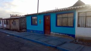 A photo of the Jesuit Volunteer house in the Tacna neighborhood.